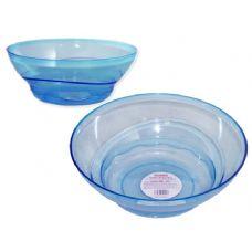 48 Units of blue crystal bowl - PLASTIC ITEMS