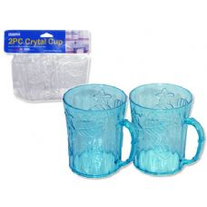 24 Units of 2pc crystal cup - PLASTIC ITEMS