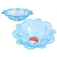 48 Units of crystal like bowl blue - PLASTIC ITEMS