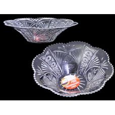 48 Units of clear crystal like bowl - PLASTIC ITEMS