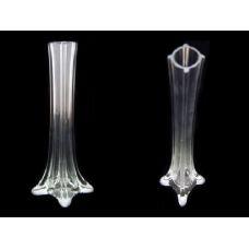 "48 Units of GLASS VASE 11.8"" TRANSPARENT"