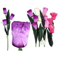 "144 Units of TULIP 3HEAD JUMBO 45"" - Artificial Flowers"