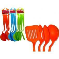 96 Units of 4 Piece Kitchen Utensil