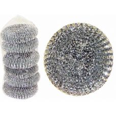 96 Units of 6 Piece Set Of Scourer - SCOURING PADS,SCRUBBERS,SPONGE