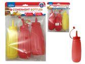 48 Units of 3pc Condiment Bottles Set