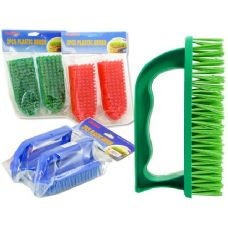72 Units of HAND BRUSH 2PCS - Scouring Pads & Sponges