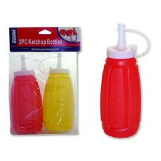 96 Units of 2 PC KETCHUP BOTTLES - Kitchen Gadgets & Tools