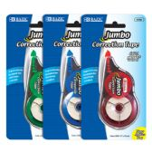 "144 Units of BAZIC 5 mm x 394"" Jumbo Correction Tape - Correction Items"