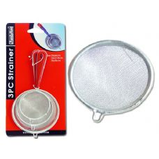 144 Units of STRAINER 3PC/SET 6+7.5+9CM W/RED HANDLE - Strainers & Funnels