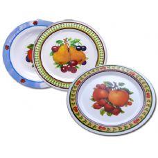 "48 Units of MELA 11"" DINNER PLATE FRUIT - Serving Trays"