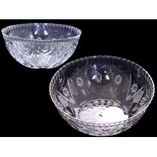 48 Units of white clear salad bowl - Plastic Bowls and Plates
