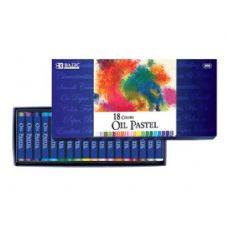 144 Units of BAZIC 18 Color Oil Pastel - Chalk,Chalkboards,Crayons