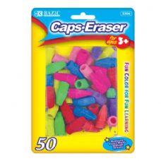 48 Units of BAZIC Neon Eraser Top (50/Pack) - Erasers