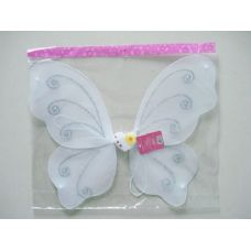 144 Units of BUTTERFLY WING 50X40CM W/DIA - Costume Accessories