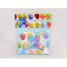 144 Units of CARD INVITATION FELIZ CUMPLEAN - Invitations & Cards