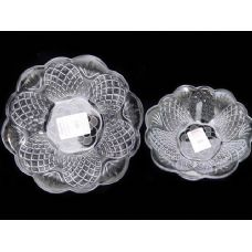48 Units of round crystal bowl - Glassware