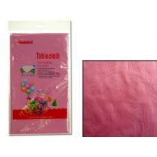 "96 Units of TABLECLOTH 54X108"" PINK - Table Cloth"