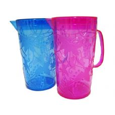 24 Units of Water Pitcher With Grape Design - Plastic Drinkware