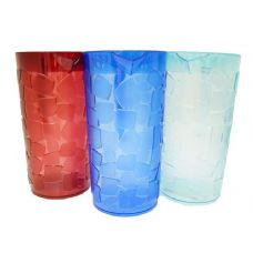24 Units of Water Pitcher With Ice Cube Design - Plastic Drinkware