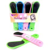"48 Units of Wholesale 2 Sided Abrasiv Pedicure File 7.25""  On Dump Display Easy Grip"