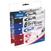24 Units of BAZIC Assorted Color Chisel Tip Dry-Erase Markers (12/Box) - Markers and Highlighters