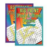 48 Units of Big Print Find-A-Word Puzzles Book