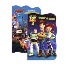 48 Units of CARS & TOY STORY Board Books - Activity Books