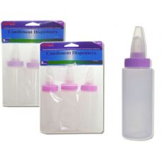 48 Units of MULTI-PURPOSE BOTTLE 3PC 3ASST - Baby Bottles