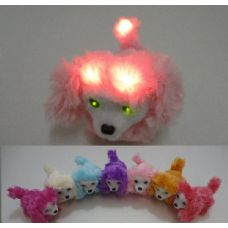 20 Units of Light Up Barking and Walking Dog--Lights on Head and Tail - Light Up Toys
