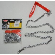 "36 Units of 48"" Pet Chain Leash - Pet Collars and Leashes"