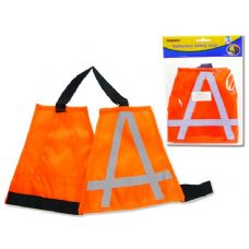 "48 Units of REFLECTIVE SAFETY VESTS:5.5X4.7"" , M 8.3 X6.3"" - Pet Collars and Leashes"