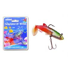 144 Units of FISHING W/3HOOK 3ASST CLR RED+YELLOW,RED+BLACK,RED CLR - Fishing Items