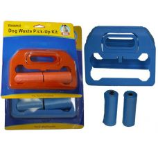 96 Units of DOG WASTE PICK-UP KIT - Pet Collars and Leashes
