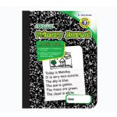 Wholesale 48 Units of BAZIC 100 Ct. Primary Journal Marble Composition Book