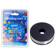 144 Units of FISHING LINE 35M 5' # - Fishing Items