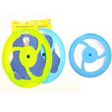 "72 Units of PET FLYING DISC. 10.2"" DIA. BLUE, GREEN CLR - Pet Toys"
