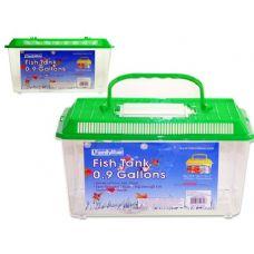 48 Units of FISH TANK 27X17X16CM ASST CLROLD NO 10957 - Fishing Items