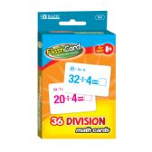 48 Units of BAZIC Division Flash Cards (36/Pack) - Teacher / Student