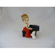 """48 Units of 1/F LADY IN RED PIANO 5""""H S/2 - Home Decor"""