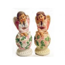72 Units of ANGEL ON BALL 2ASST COLOR - Home Decor
