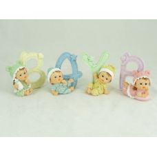 """96 Units of BABY W/LETTER """"BABY"""" - Home Decor"""