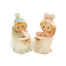 144 Units of PR BABY ON TOILET S/4 SMALL - Home Decor
