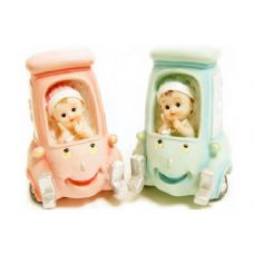 48 Units of BABY ON CAR 2ASST COLOR - Home Decor