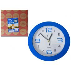 "24 Units of CLOCK 10.5"" 4ASST CLR"