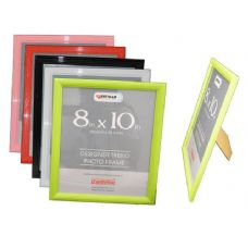 "96 Units of PHOTO FRAME 8*10""6ASST CLR PACKING 1/PC 24/CTN - Picture Frames"