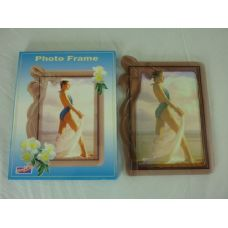 "72 Units of 5X7"" PLS TEA COLOR W/FLW LEFTSIDE - Picture Frames"