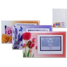 "96 Units of PHOTO FRAME 4X6"" ASST CLR - Picture Frames"