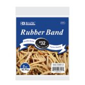 72 Units of BAZIC 2 Oz./ 56.70 g #32 Rubber Bands