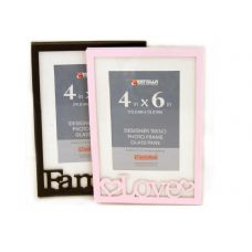 "360 Units of PHO FRAME 4X6""3ASST COLOR 3DES - Picture Frames"