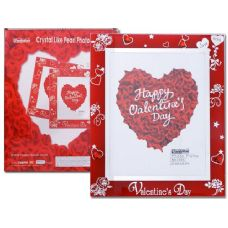 "24 Units of GLASS FRAME 8/X10"" VALENTINE 74579.74581"